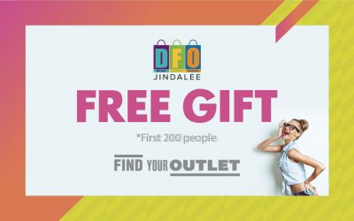 Free Gift, one day only, first 200 shoppers